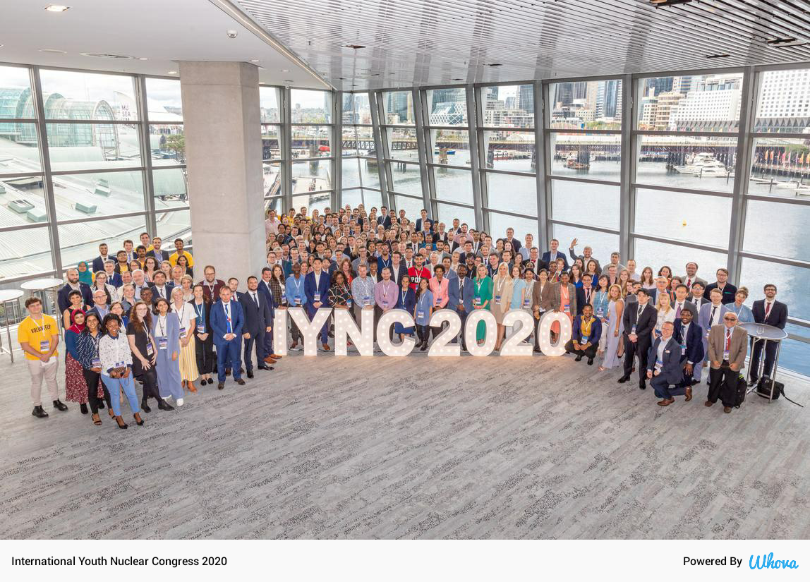 Participation in the International Youth Nuclear Congress (IYNC), Sydney, 8-13 March 2020
