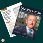 Co-generation in the Early Days of Nuclear Power, article Part 2 in Nuclear Institute's Nuclear Futures magazine